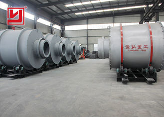 Three Cylinder Rotary Sand Dryer Machine For Drying Silica Sand Low noise