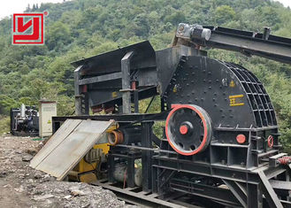 Mining Industry Heavy Hammer Crusher Machine For Crushing Brittle Material