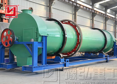 12-15T Rotary Dryer Machine for Cow Chicken Manure Drying High Capacity