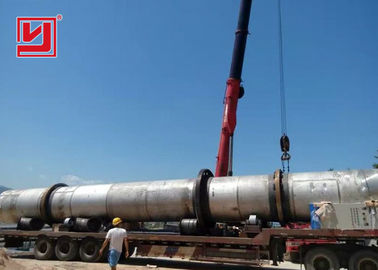 Yuhong Brand Palm Kernel Shell Rotary Dryer Machine with 15t / d high capacity