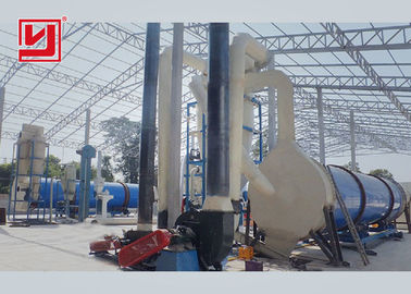 Oil Palm Fibre Roller Dryer Machine Assembled Structure High Efficiency