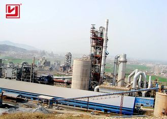 Small Mini Cement Rotary Kiln Production Plant 50tpd To 3000tpd Low Noise